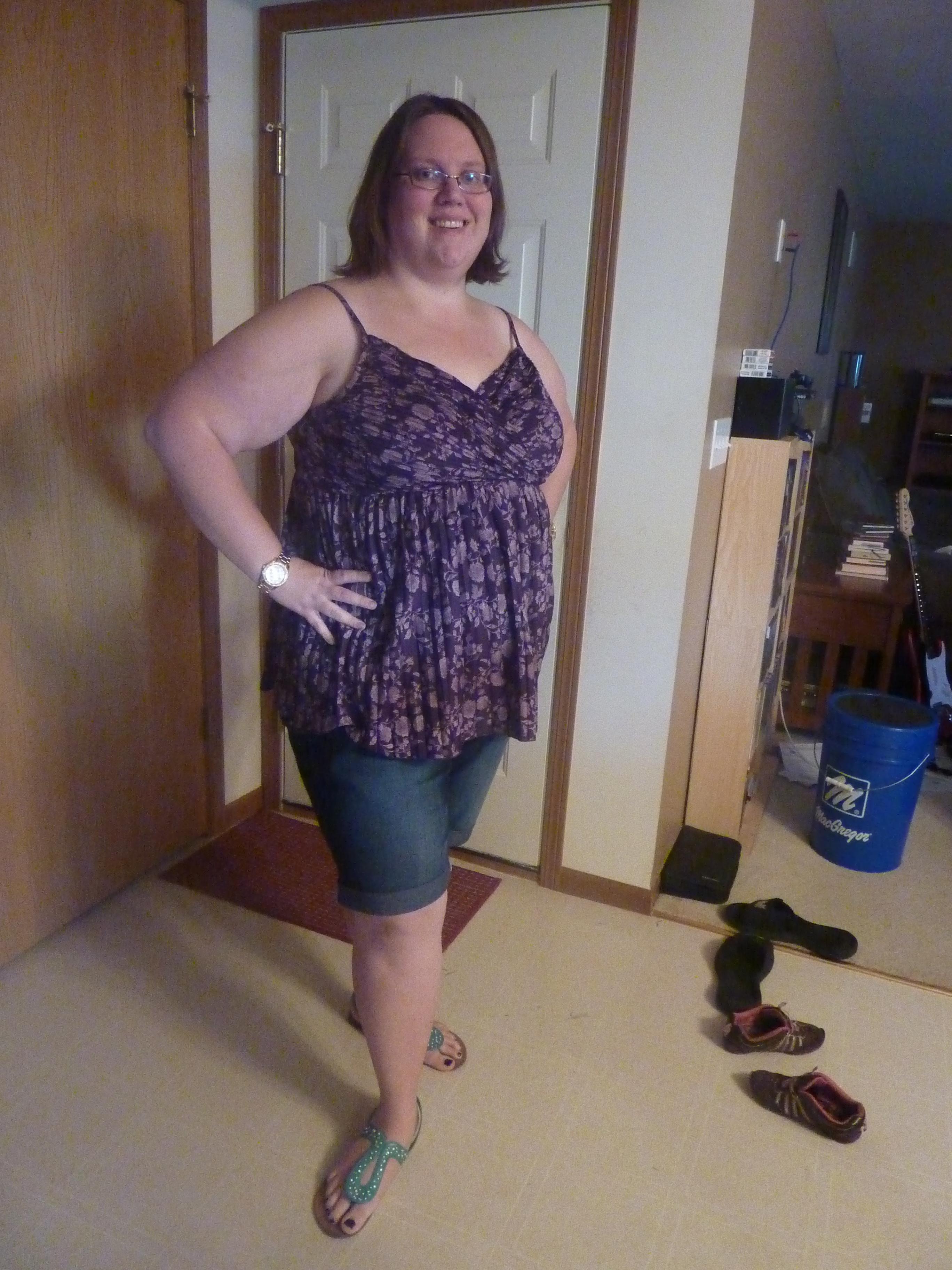 1aea07e7bfe Pleated Shirt–Lane Bryant 2005. Knee-length Maternity ...